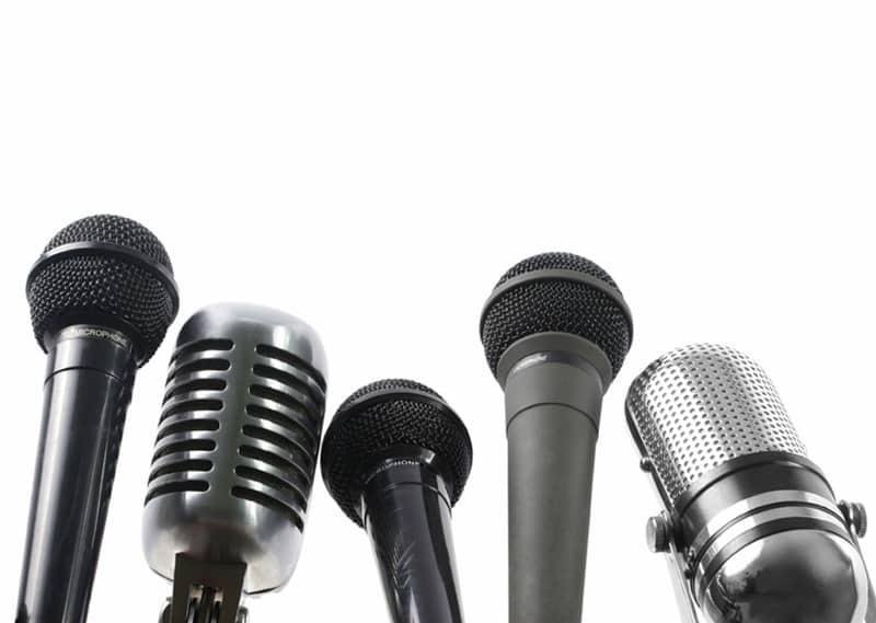 col de cygne support micro broadcast