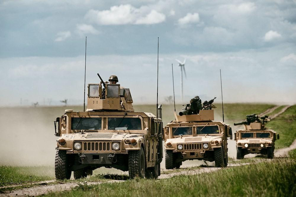 military antenna bracket